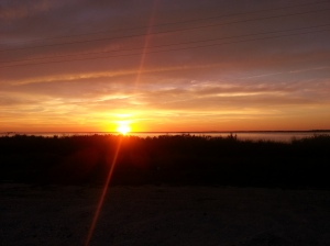 Sunset on Dauphin Island, AL